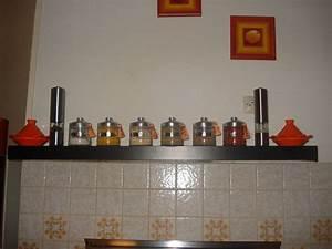 Pots à épices : j 39 ai cstomis mon tag re de cuisine et mes pots pices malikamour ~ Teatrodelosmanantiales.com Idées de Décoration