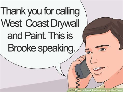 How To Speak Professionally On The Phone (with Pictures) Wikihow