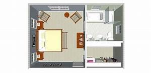 plan chambre avec salle de bain et dressing mh home With plan chambre parentale avec salle de bain