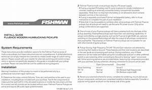 Fishman Fluence Modern Humbucker Wiring Diagram