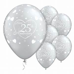 25th 40th 50th wedding anniversary balloons party for 25th wedding anniversary balloons decorations