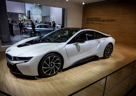 Super New 2013 Crystal White Bmw I8 Luxury Two Seater Cars