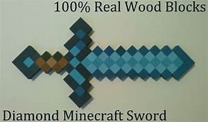 Diamond Minecraft Sword in real life - Screenshots - Show ...