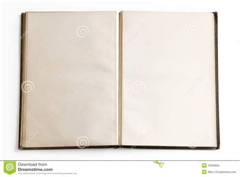 open book  blank pages stock photography image