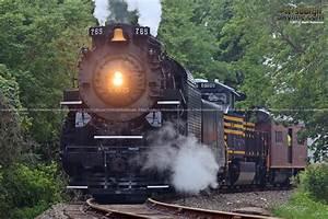 Steam Locomotive NKP 765 at Homewood Junction, PA ...
