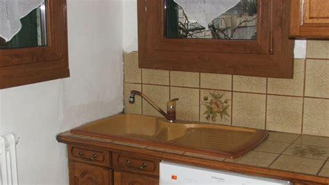 evier cuisine ancien remplacer et poser un évier en inox