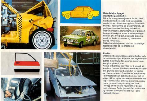 opel kadett 1976 auto brochures