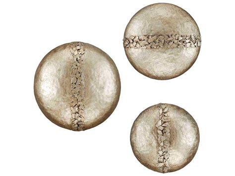 paragon hammered discs metal exclusive wall art