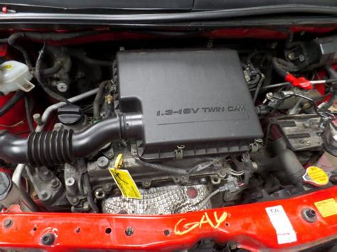 Gebruikte Daihatsu Sirion 2 (m3) 1.3 16v Dvvt Motor