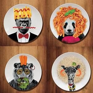 Assiette Plate Originale : q ration ~ Teatrodelosmanantiales.com Idées de Décoration