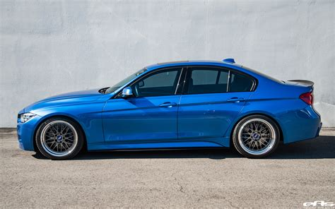 Estoril Blue by Estoril Blue Metallic Bmw 340i With Bbs Wheels And M