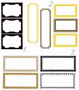 free fancy schmancy label templates diy project With do it yourself stickers labels