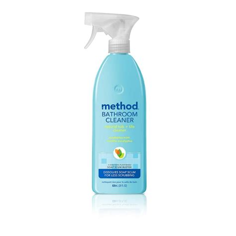 the tub method method 28 oz tub and tile cleaner 00008 the home depot