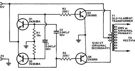wiring diagram of inverter ac dc to dc ac inverter circuit diagram wiring radar
