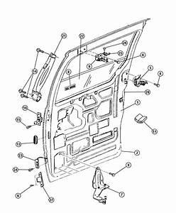 1998 Dodge Caravan Door  Sliding
