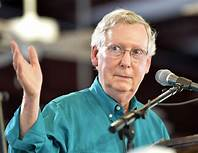 Mitch McConnell blocks bills to reopen government