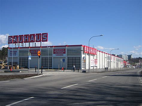 A Bauhaus Drive-in In Alby, Sweden