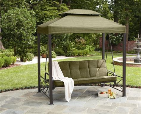 patio swing canopy replacement semi circle outdoor swing