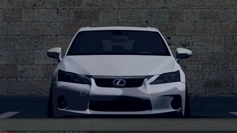 stanced lexus wiksaw is back lexus cth200 stanced convert from forza