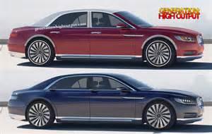 2016 Lincoln Continental Car