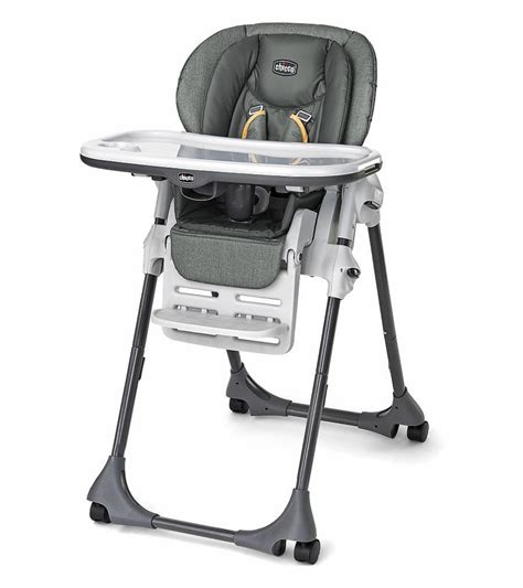 Chicco High Chair Polly 2 In 1 by Chicco Vinyl Polly High Chair Sedona