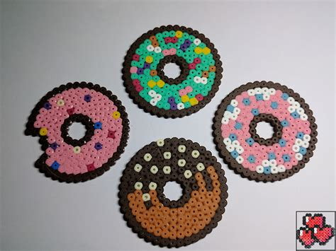 Check out our pixel art selection for the very best in unique or custom, handmade pieces from our shops. Dessous de verre : donuts party - The Great Pearler