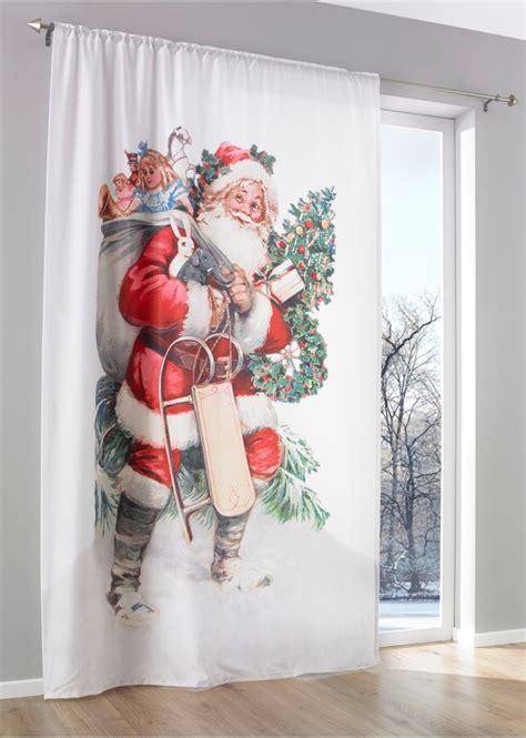 vorhang weihnachtsmann er pack weiss rot bpc living