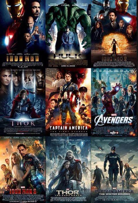 avengers movies  chronological order avengers