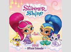 Shimmer and Shine Calendar 2018 Calendar Club UK