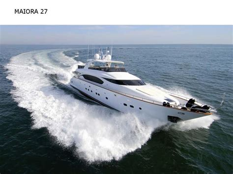 20 Foot Boat With Cabin by 2006 Fipa Maiora Maiora 27 Power Boat For Sale Www
