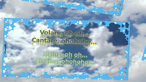 volare lyrics english translation