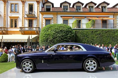 Rolls-royce Sweptail Coupé Pays Homage To The World Of
