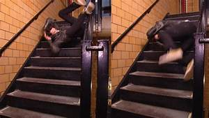 How to Avoid Falling Down Stairs - YouTube