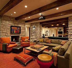 20, Amazing, And, Unbelievable, Basements, Ideas, With, Picutres