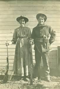 Old Wild West Women