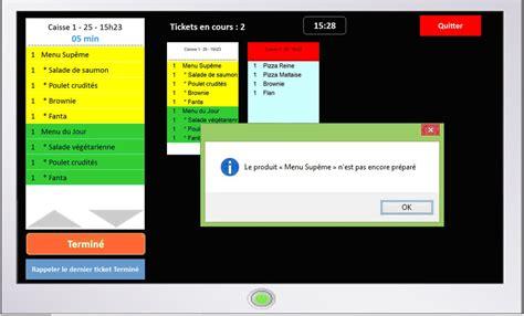 logiciel gestion cuisine logiciel de gestion et de préparation des commandes en cuisine