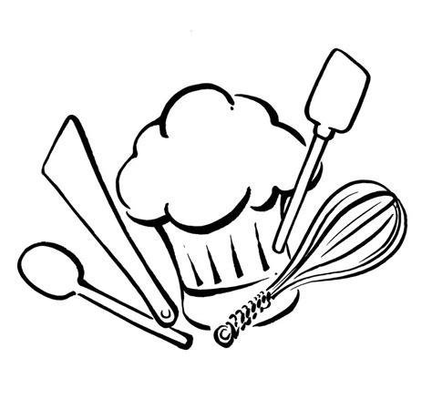 dessin de cuisine ustensiles de cuisine savine