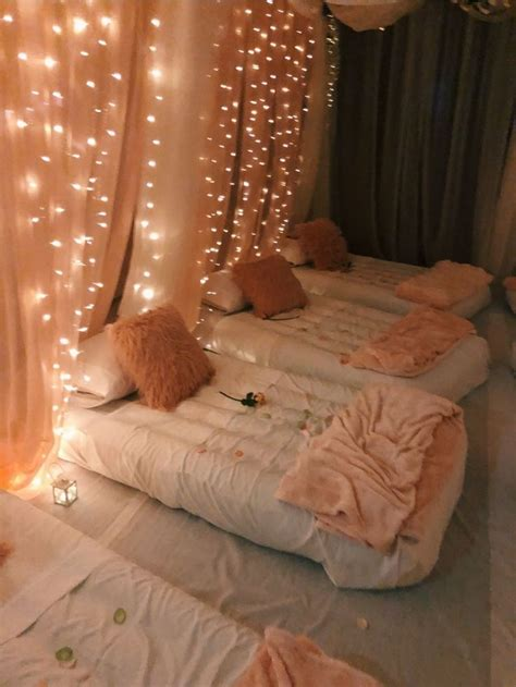 vsco kikimont   sleepover room luxurious
