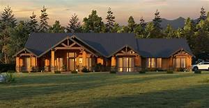Lodge, Life, House, Plan