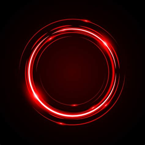 abstract circle light red frame vector background disc
