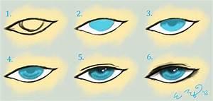 Eye Tutorial- Boy (Semi-Realistic/Anime Style) by ...