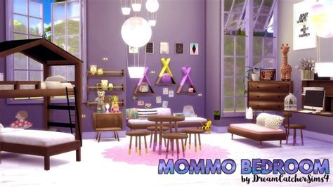 Mommo Bedroom Set at DreamCatcherSims4 » Sims 4 Updates