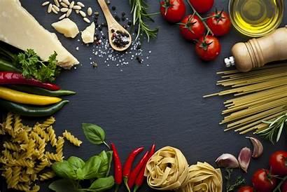 Dieta Mediterranea Aliments Ardoise Pasta Fond Italian