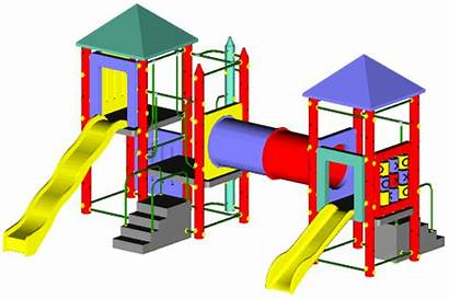 Playground Equipment Play Fort Structure Livingston Parts