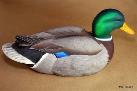 contemporary style mallard drake duck crafts decoy