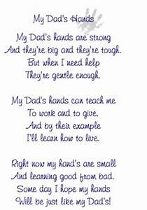 Free printable Father's day footprint poem from the kids ...
