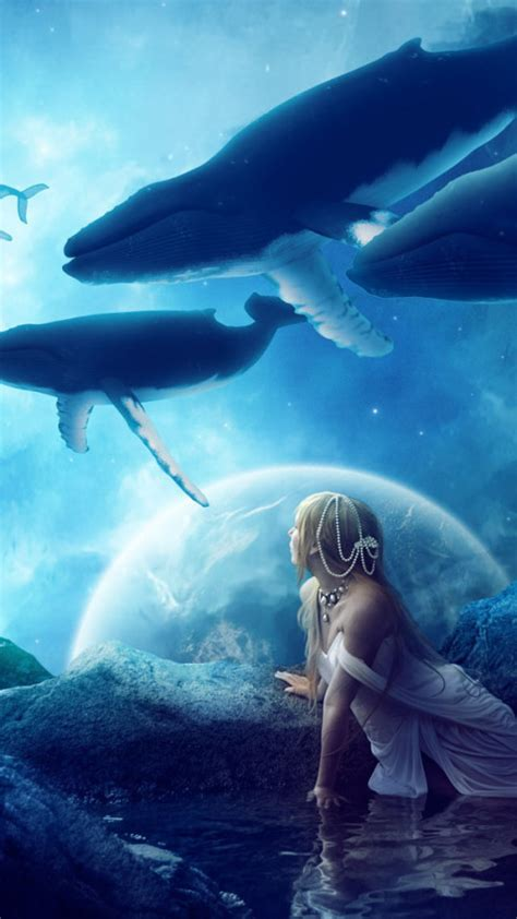 See more ideas about mobile wallpaper, wallpaper, phone wallpaper. Cute Whale Wallpaper for iPhone - WallpaperSafari
