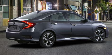 Honda Civic Sedan by 2016 Honda Civic Sedan Unveiled Photos 1 Of 9