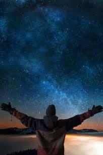 Camping Night Sky Stars