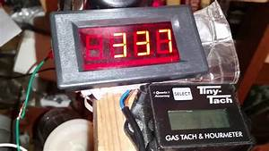 4 Digit Led Tachometer  Ebay   U0026 Tiny Tach